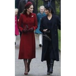 Kate Middleton–Meghan Markle: Η χριστουγεννιάτικη εμφάνιση