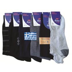 Ανδρικές βαμβακερές κάλτσες