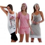 Γυναικείες καλοκαιρινές πυτζάμες