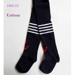 9013 Παιδικό Βαμβακερό Καλσόν με Σχέδιο Άγκυρα