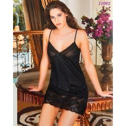 11002 - Φόρεμα - Κομπινεζόν με Δαντέλα