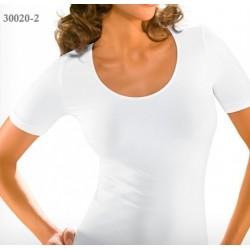 30020-2 Ελαστικό T-Shirt με κοντό μανίκι