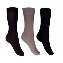 318 - Βαμβακερή Κάλτσα με Ανάγλυφη Πλέξη Πικέ