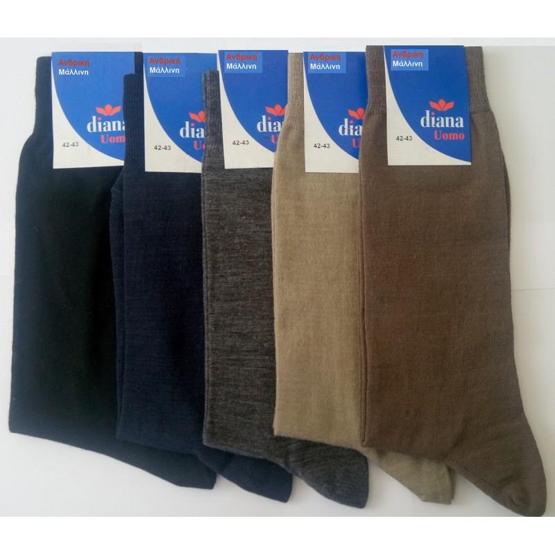 Diana - Ανδρική Μάλλινη Κάλτσα f6042bf2740