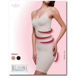 5014 - Αόρατο Φόρεμα - Κορσές με Lastex & Push-Up
