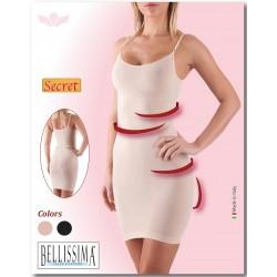 5014 - Αόρατο Φόρεμα - Κορσέ με Ανόρθωση των γλουτών