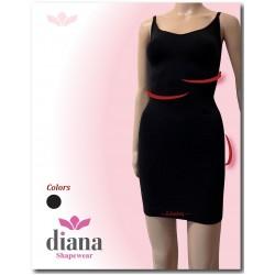 5020-5 Ανορθωτικό Φόρεμα-Κορσές με λεπτή τιράντα & Σιλικόνη