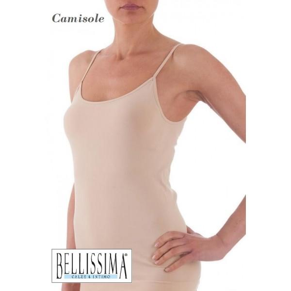 e14d7133928a Diana - Ελαστικό Camisole με Λεπτή Τιράντα σε Χρώμα του Δέρματος
