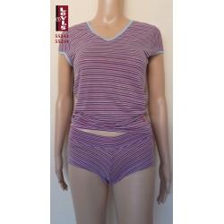 """55243 - Βαμβακερό Τ-Shirt LEVIS """"Multi stripes"""" με Κοντό Μανίκι"""