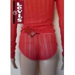 55514 - Ημι-διαφανές Boxer LEVIS με Δαντέλα