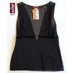 Ημι-διαφανές Αμάνικο Shirt LEVIS