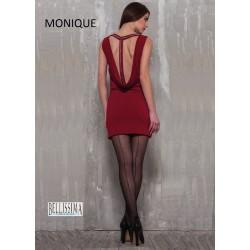 """561 - Ελαστικό Kαλσόν 20D με Ρίγα """"Monique"""""""