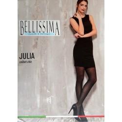 """561-4  Διαφανές Ελαστικό Καλσόν με Σχέδιο Πουά """"Julia"""""""