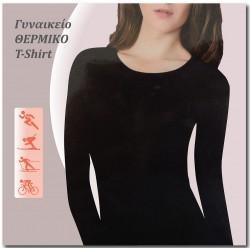 60880 - Γυναικείο Ισοθερμικό T-Shirt με Μακρύ Μανίκι