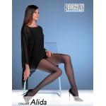 """921-50  Διαφανές Ελαστικό Καλσόν με γεωμετρικό σχέδιο """"Alida"""""""