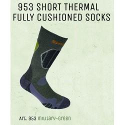 953-1 - Αθλητική αντικραδασμική κάλτσα-fully cushioned sock