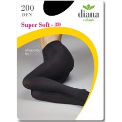 980-200 Αδιαφανές Ελαστικό Καλσόν 200D - Super Soft 3D