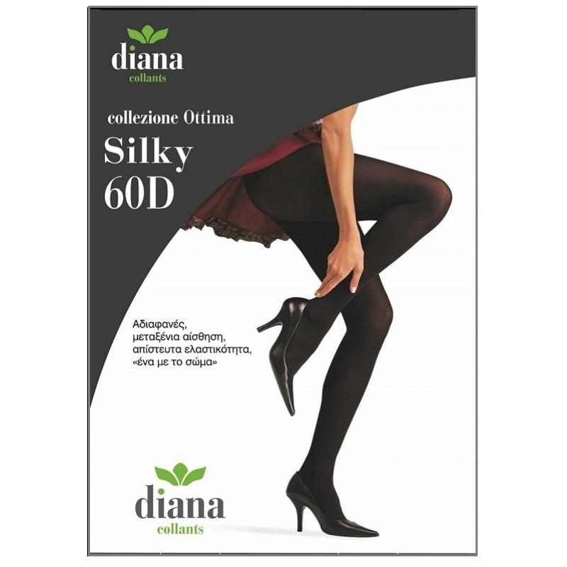 cb54979958c Diana - Αδιαφανές Καλσόν με Μεταξένια Αίσθηση Silky 60D