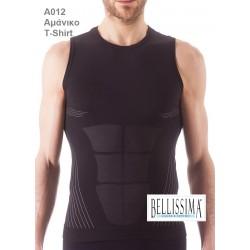 A012 - Αθλητικό Αμάνικο διαπνέον T-Shirt b44898fbb69