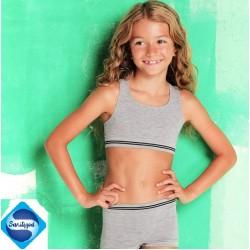 A24-4 Αθλητικό Διαπνέον Μπουστάκι, για κορίτσια