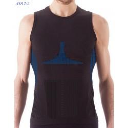 A012-2  Αθλητικό Διαπνέον Αμάνικο T-Shirt