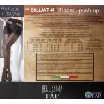 B34 - Ελαστικό Ημι-Διαφανές Καλσόν με Push-Up 40D